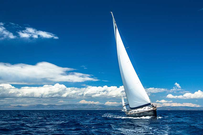 types of sailing